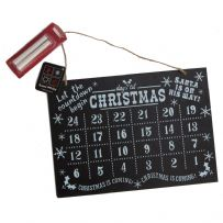 Blackboard Countdown Advent Calendar